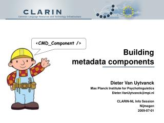 Building  metadata components