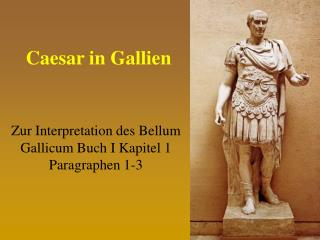 Caesar in Gallien