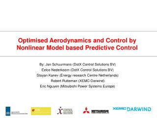 Optimised Aerodynamics and Control by Nonlinear Model based Predictive Control