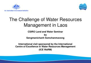 The Challenge of Water Resources Management in Laos