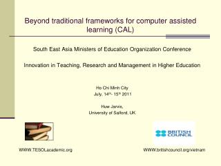 Beyond traditional frameworks for computer assisted learning  (CAL)