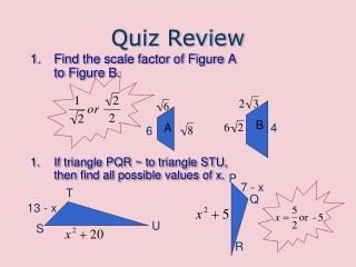 Quiz Review