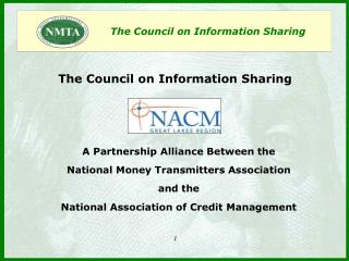 The Council on Information Sharing