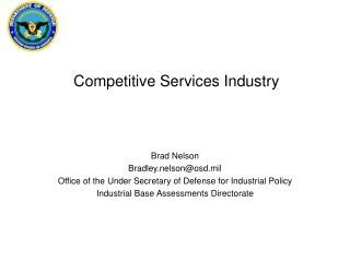 Competitive Services Industry