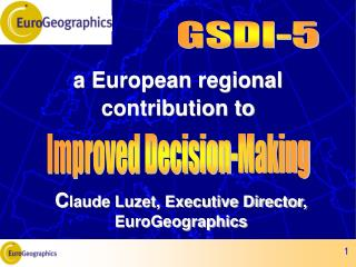 a European regional contribution to