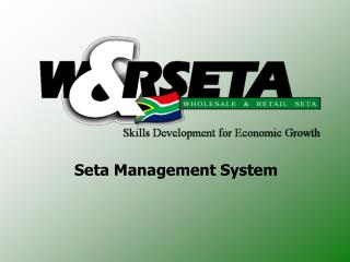 Seta Management System