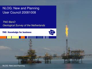 TNO BenO Geological Survey of the Netherlands