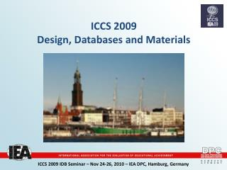 ICCS 2009 Design, Databases and Materials