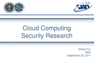 Cloud Computing Security Research