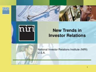 New Trends in Investor Relations