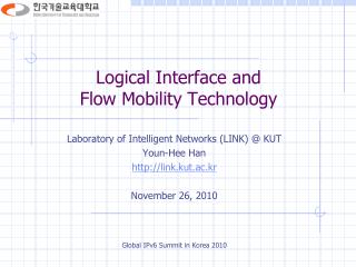 Logical Interface and  Flow Mobility Technology