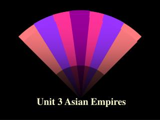 Unit 3 Asian Empires