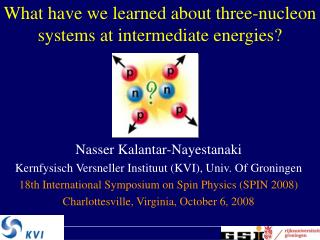 What have we learned about three-nucleon systems at intermediate energies?
