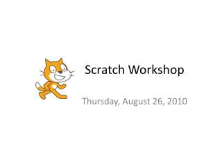 Scratch Workshop