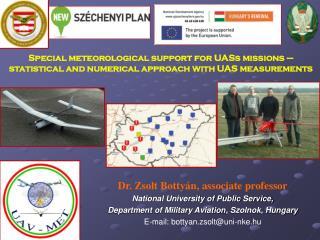 Dr. Zsolt Bottyán,  associate  professor National University of Public Service,