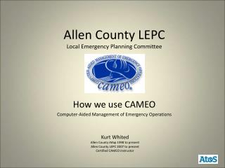 Allen County LEPC Local Emergency Planning Committee