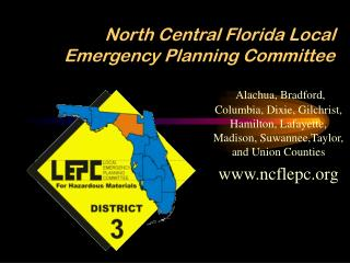 North Central Florida Local Emergency Planning Committee