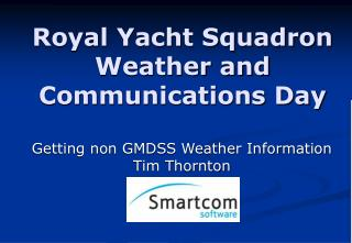 Royal Yacht Squadron Weather and Communications Day