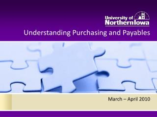 Understanding Purchasing and Payables