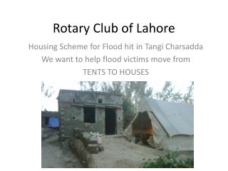 Rotary Club of Lahore