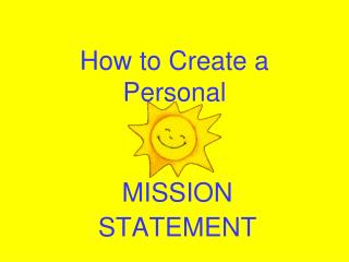 How to Create a Personal
