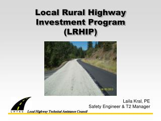 Local Rural Highway Investment Program (LRHIP)