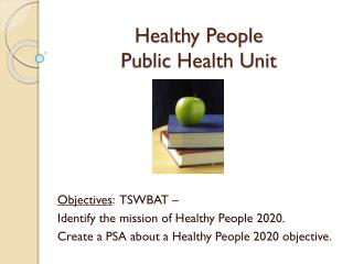 Healthy People Public Health Unit
