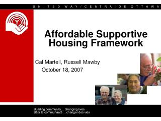 Affordable Supportive Housing Framework