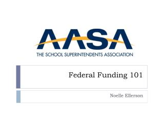 Federal Funding 101