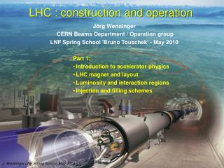 LHC : construction and operation
