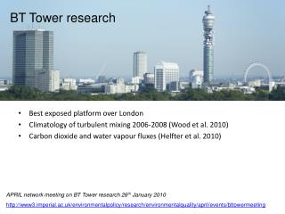 BT Tower research