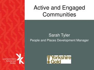 Active and Engaged Communities