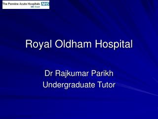 Royal Oldham Hospital