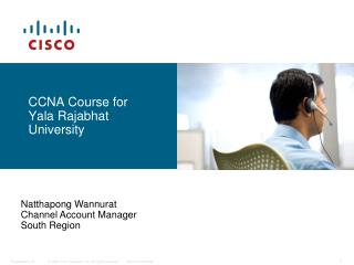 CCNA Course for Yala Rajabhat University