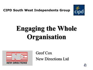 Engaging the Whole Organisation