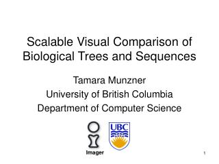 Scalable Visual Comparison of Biological Trees and Sequences