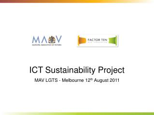 ICT Sustainability Project