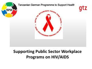 Supporting Public Sector Workplace Programs on HIV/AIDS
