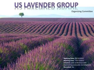 US Lavender  Group