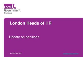 London Heads of HR