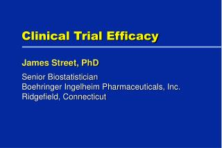 Clinical Trial Efficacy