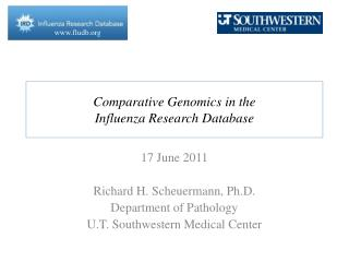 Comparative Genomics in the Influenza Research Database