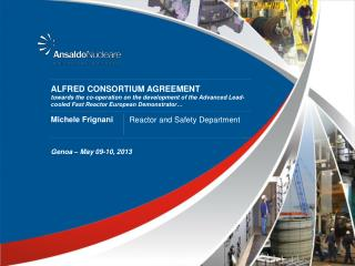 ALFRED CONSORTIUM AGREEMENT
