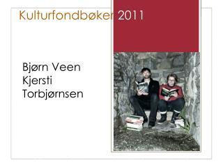 Kulturfondbøker  2011
