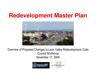 City of Leon Valley Redevelopment Master Plan