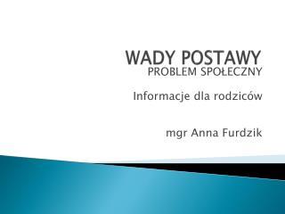 WADY POSTAWY