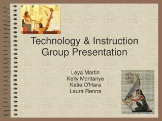 Technology & Instruction Group Presentation