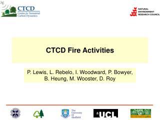 CTCD Fire Activities