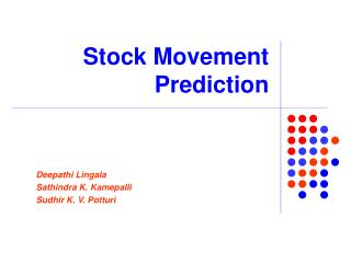 Stock Movement Prediction
