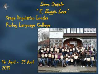 Stage linguistico Londra Purley Language  College